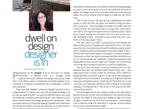 ASID LA MAGAZINE ARTICLE
