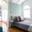 Guest Suite, Custom Drapery,hidden window